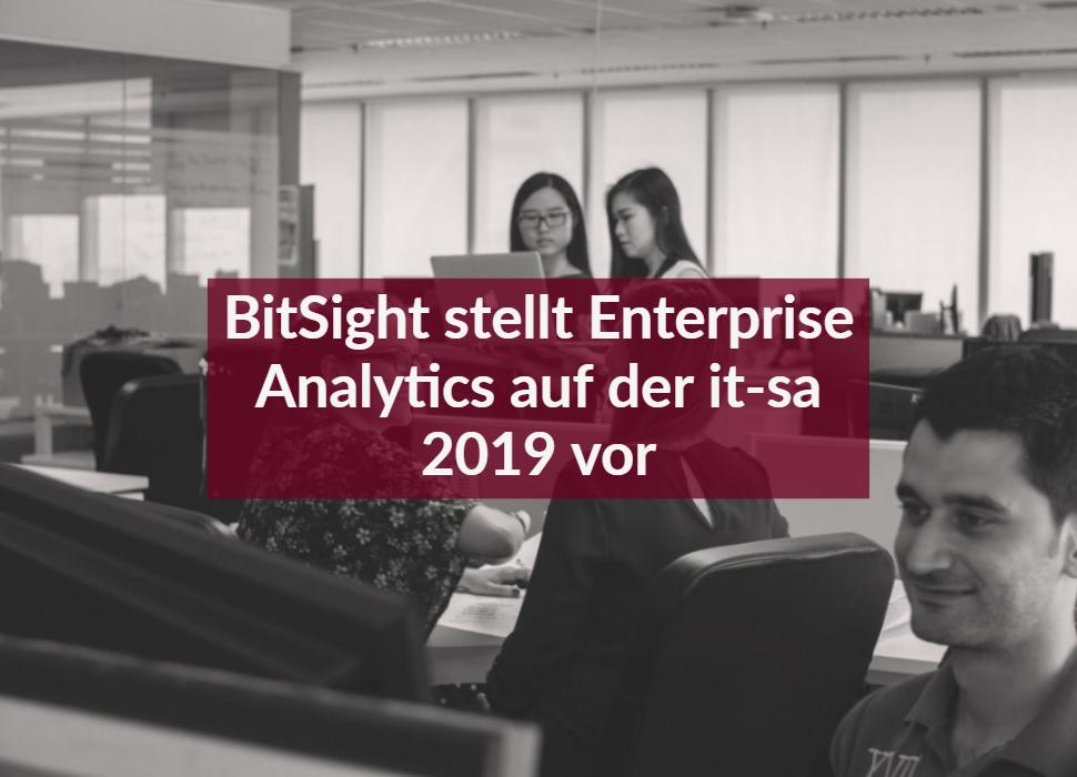 BitSight stellt Enterprise Analytics auf der it-sa 2019 vor