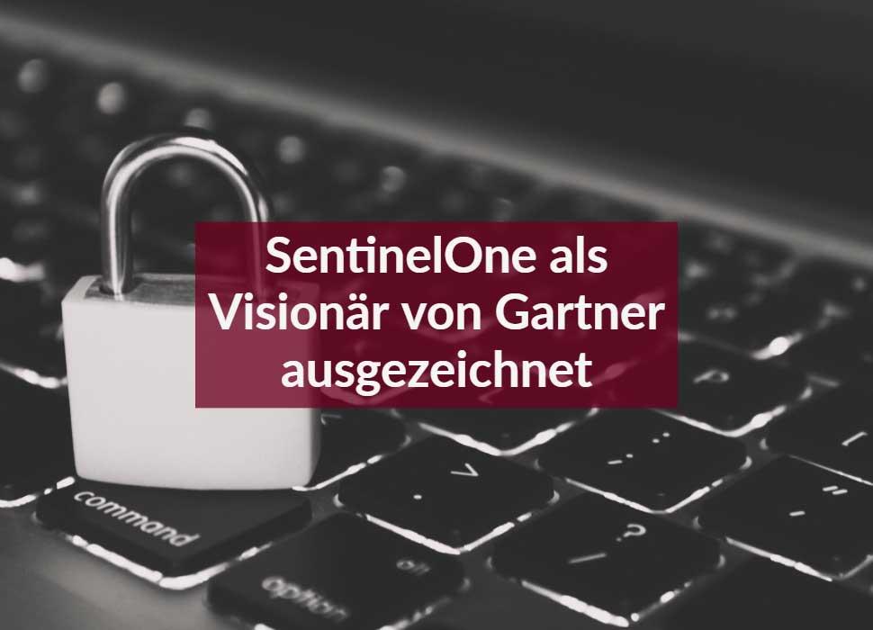 SentinelOne als Visionär von Gartner ausgezeichnet