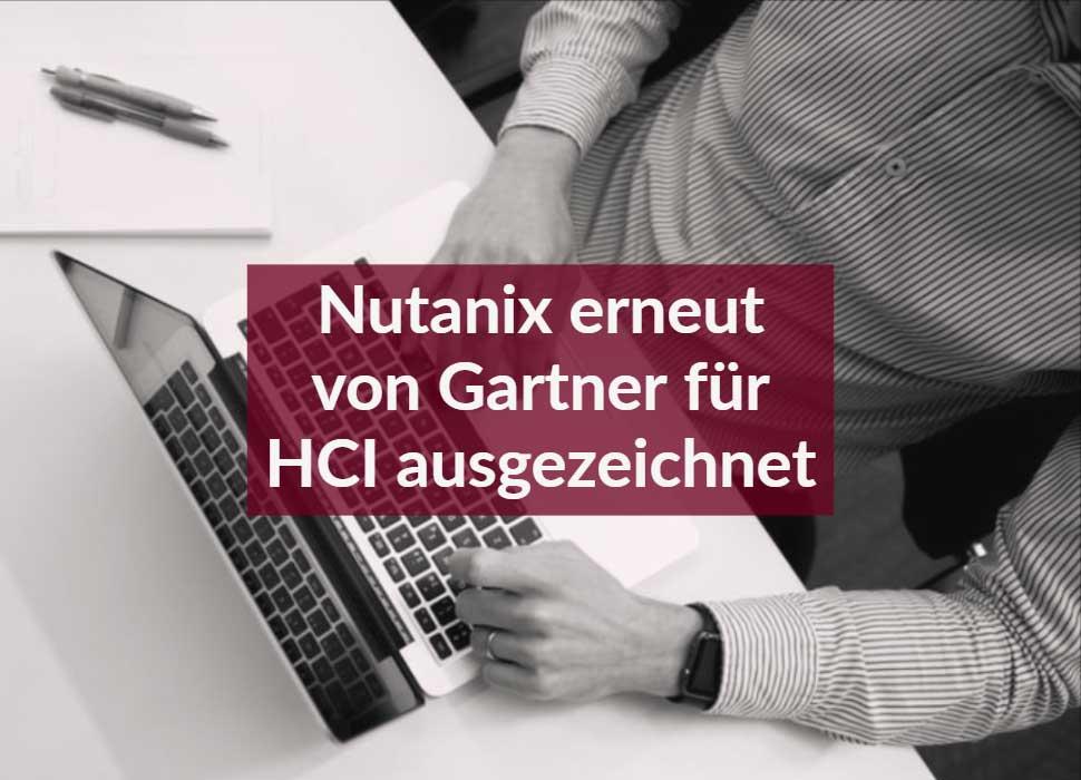 Nutanix erneut von Gartner für HCI ausgezeichnet