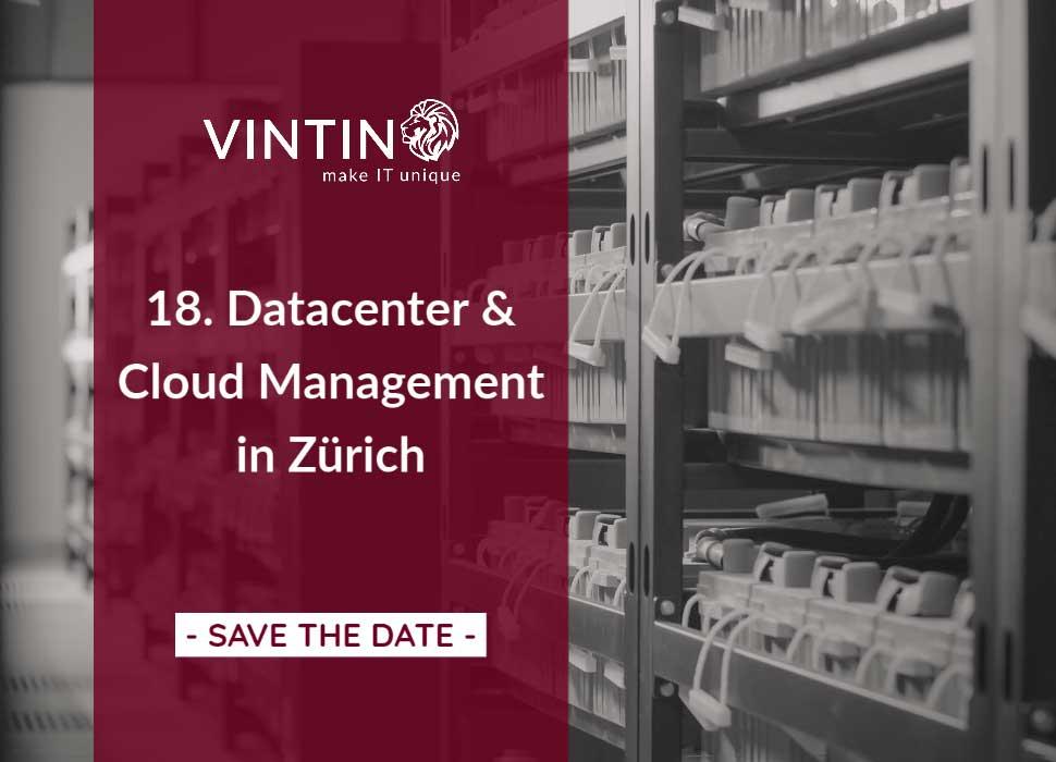 VINTIN auf der 18. Datacenter & Cloud Management