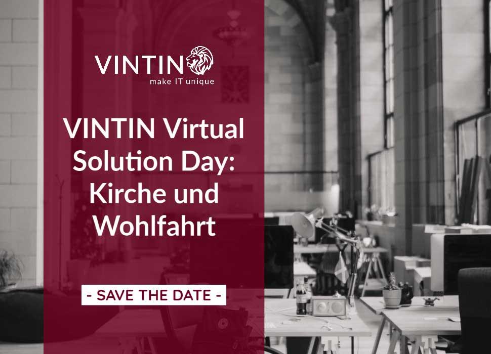 SAVE THE DATE: VINTIN Virtual Solution Day: Kirche und Wohlfahrt