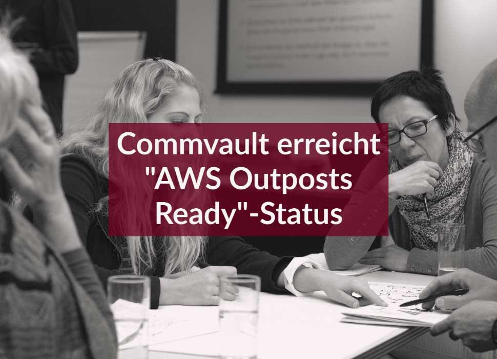 """Commvault erreicht """"AWS Outposts Ready""""-Status"""