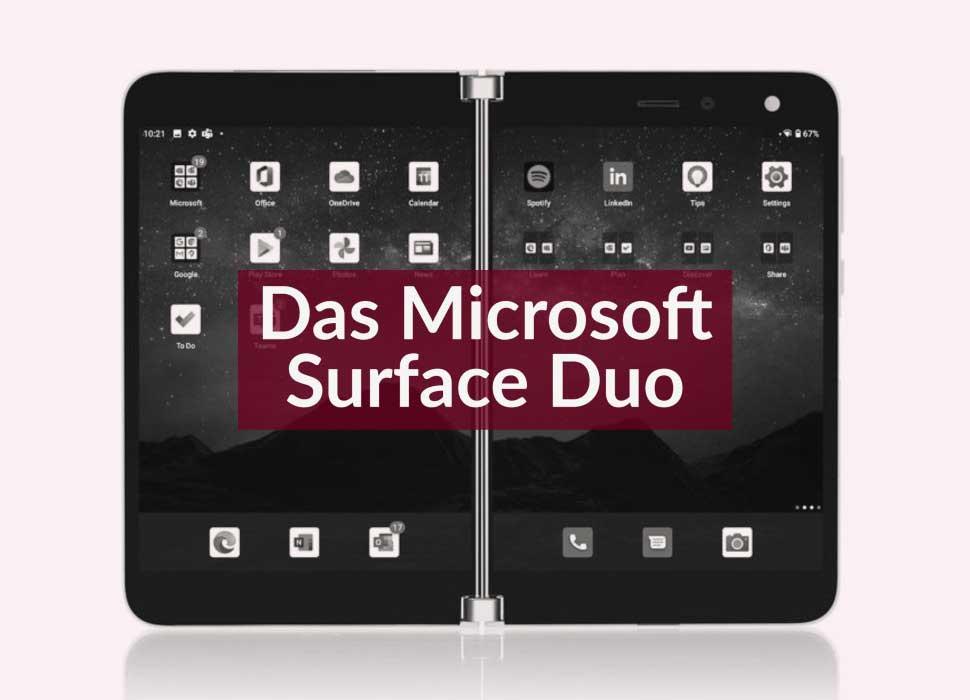 Das Microsoft Surface Duo