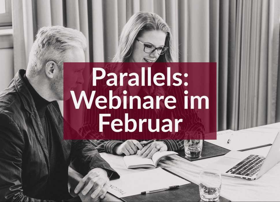 Parallels: Webinare im Februar
