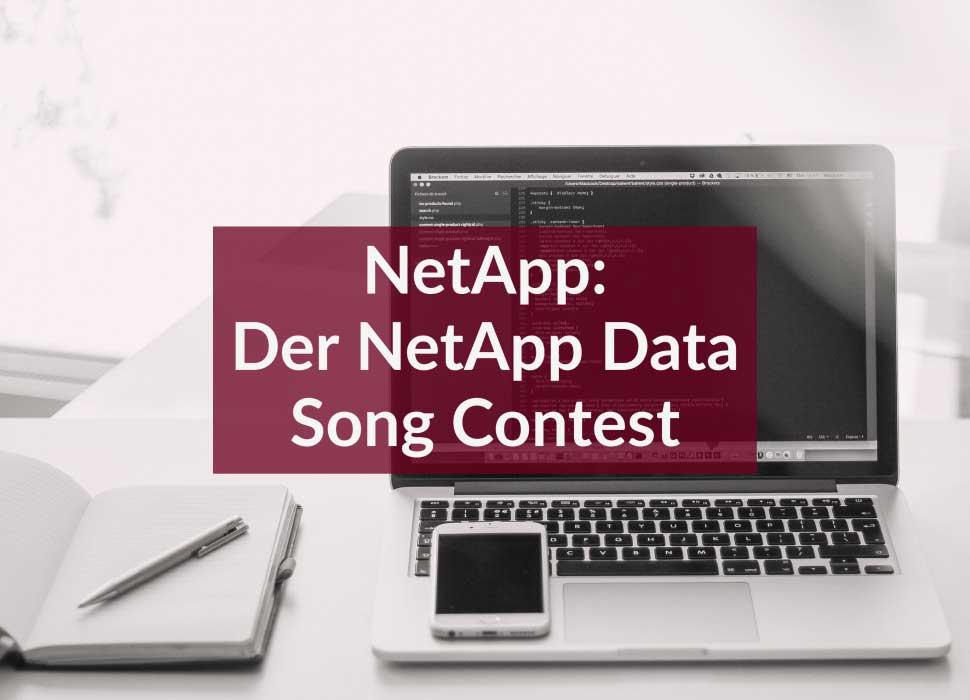 NetApp: Der NetApp Data Song Contest