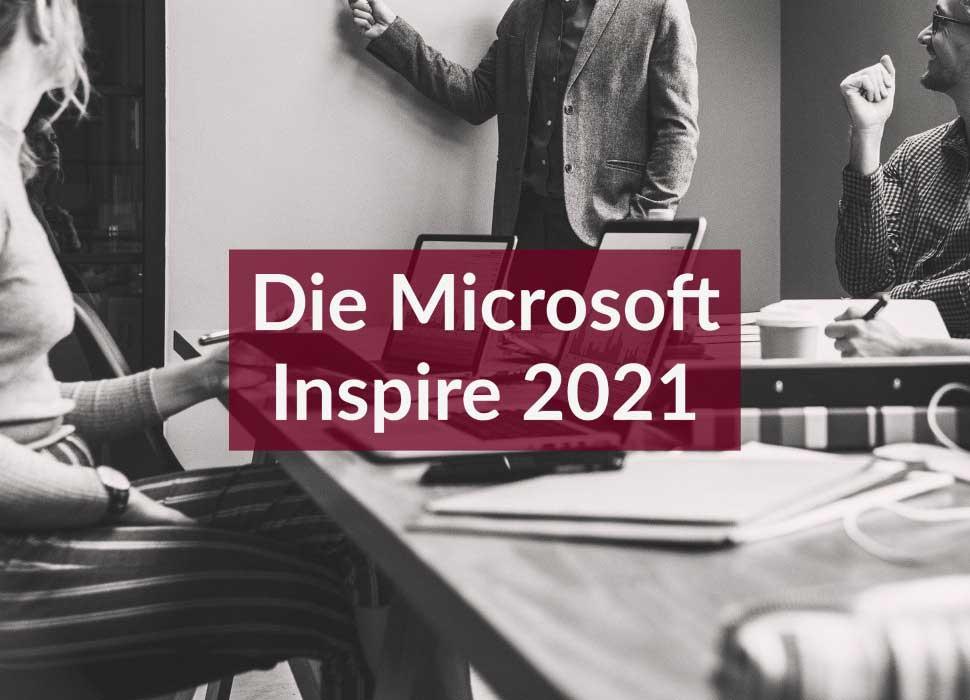 Die Microsoft Inspire 2021