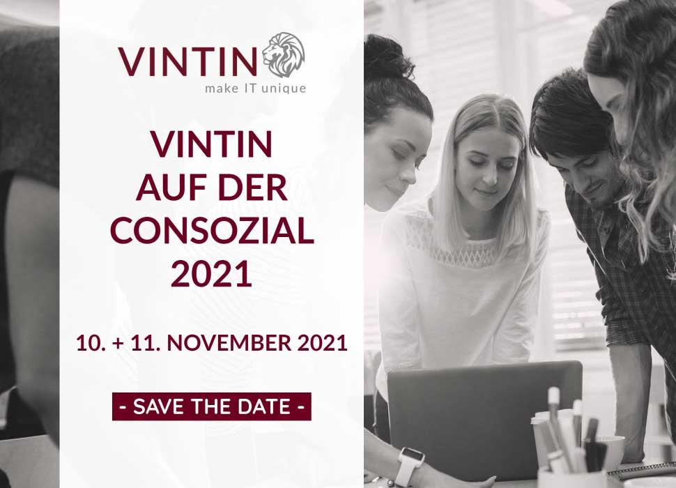 VINTIN auf der ConSozial 2021
